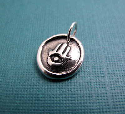 beth hemmila hint jewelry sterling silver charm hand of fatima good luck protection