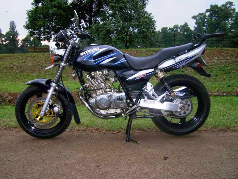 Modifikasi Suzuki Thunder 250 Standar