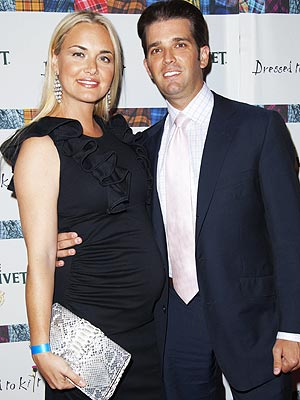 donald trump jr wife vanessa. donald trump jr and wife
