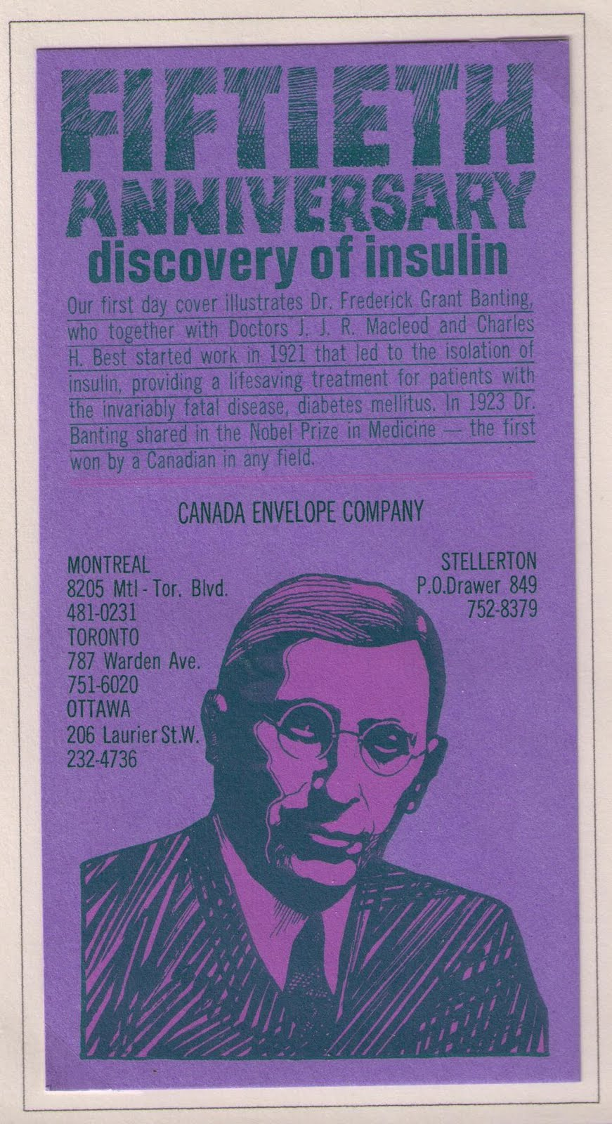 the history of the discovery of insulin The banting digital library is an online collection of resources and artifacts that  are all significant in the life of frederick banting, the discoverer of insulin.