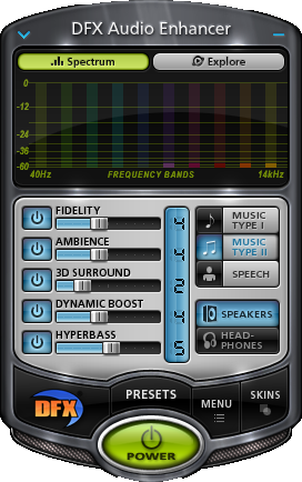 DFX Audio Enhancer Plus