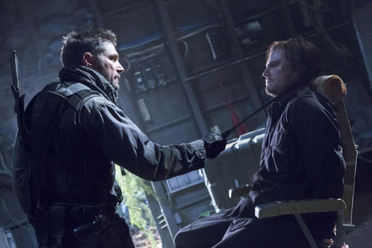 Manu Bennett es Deathstroke en Arrow