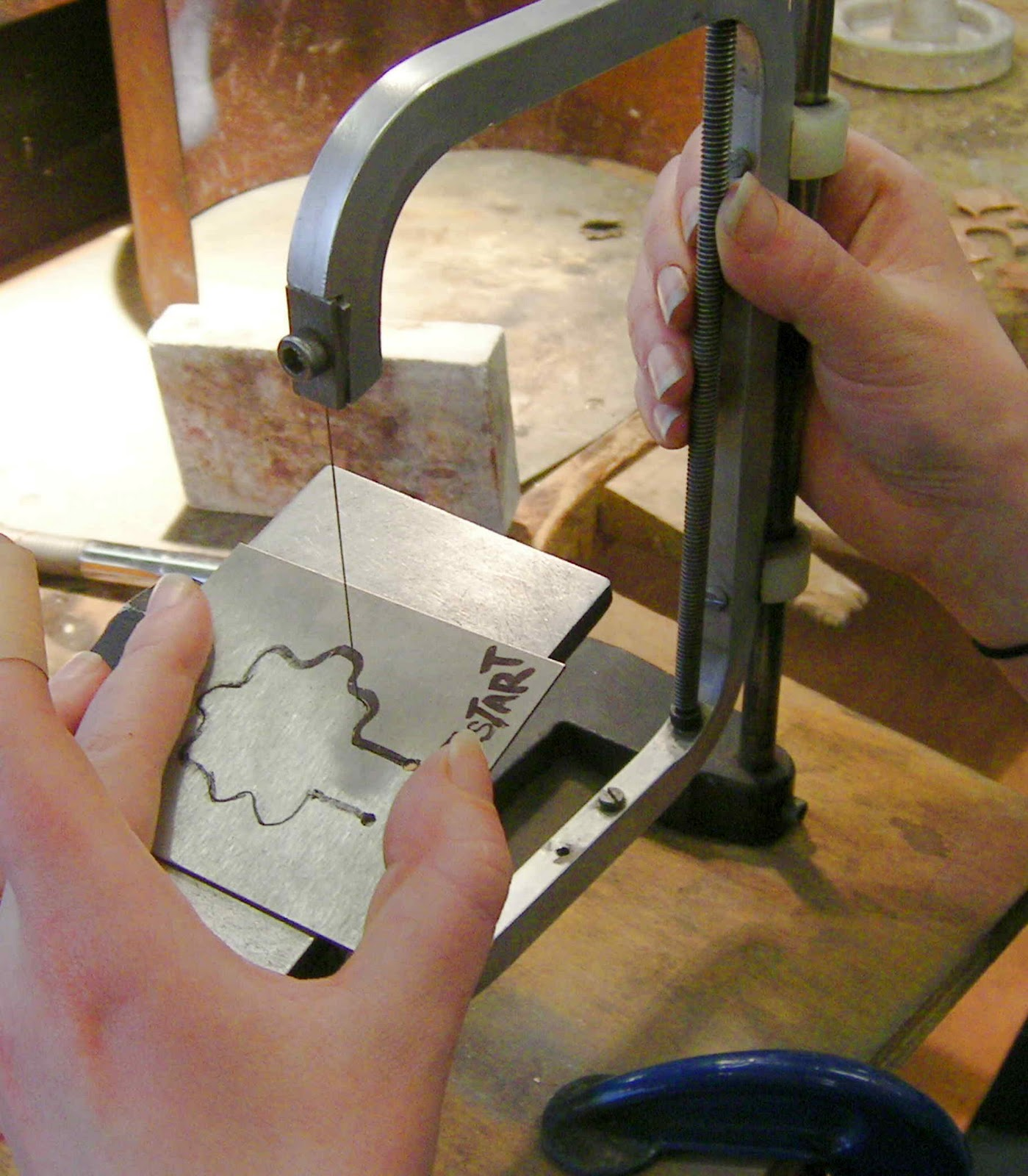 Etsy metal creating a cutting stamp using the rt blanking system ccuart Choice Image
