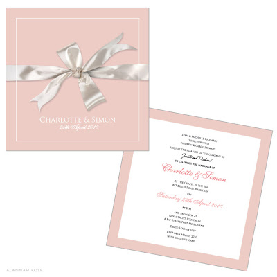 Pink Wedding Invitations 1