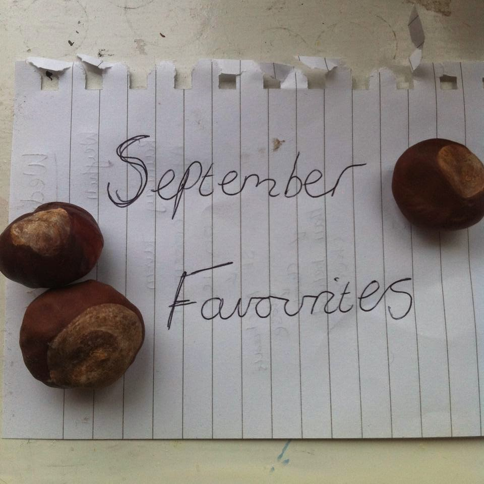 Monthly Favourites: September