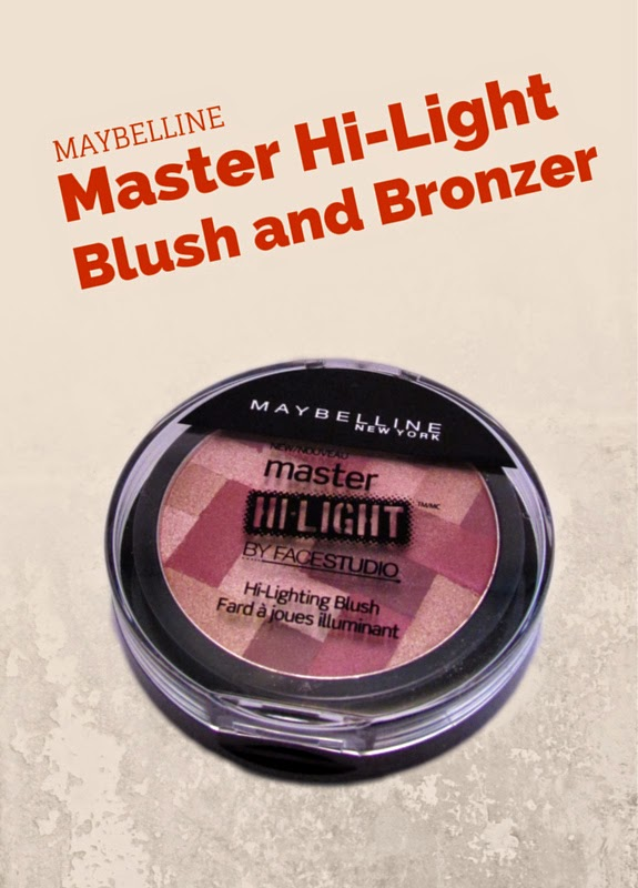 Review of Maybelline Master Hi-Light Bronzer and Blush Makeup