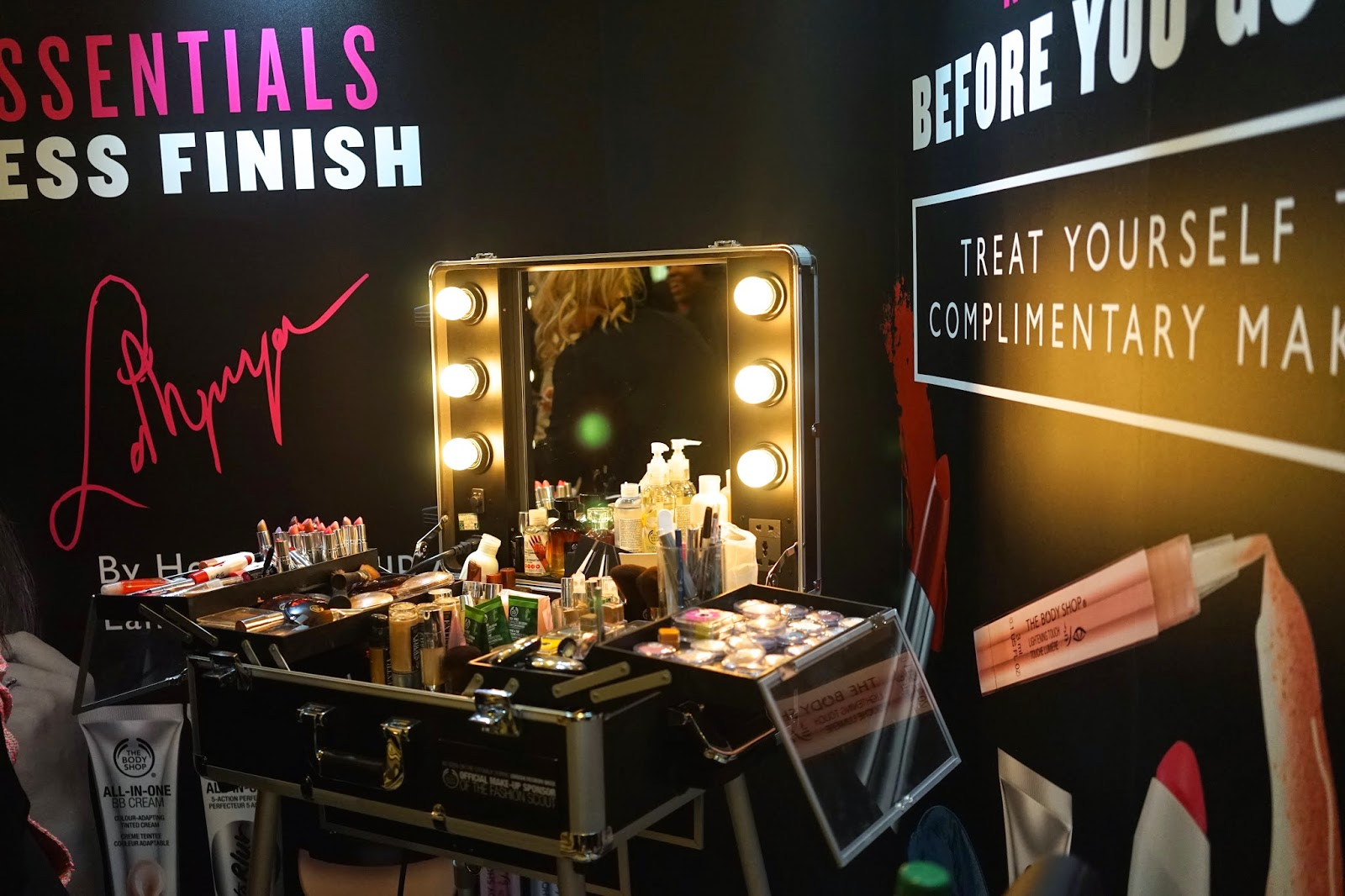 the body shop london fashion week
