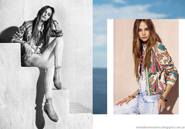 Chaquetas primavera verano 2016 moda Rapsodia.