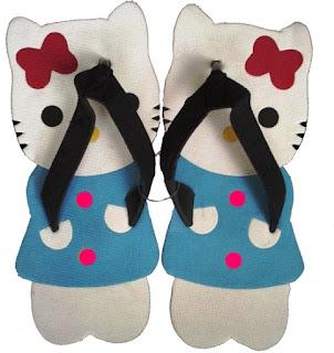 Sandal Lucu (Sancu) Hello Kitty