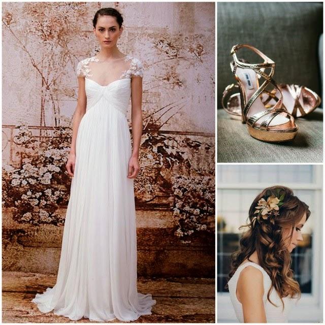Vestidos de novia tipo tunica