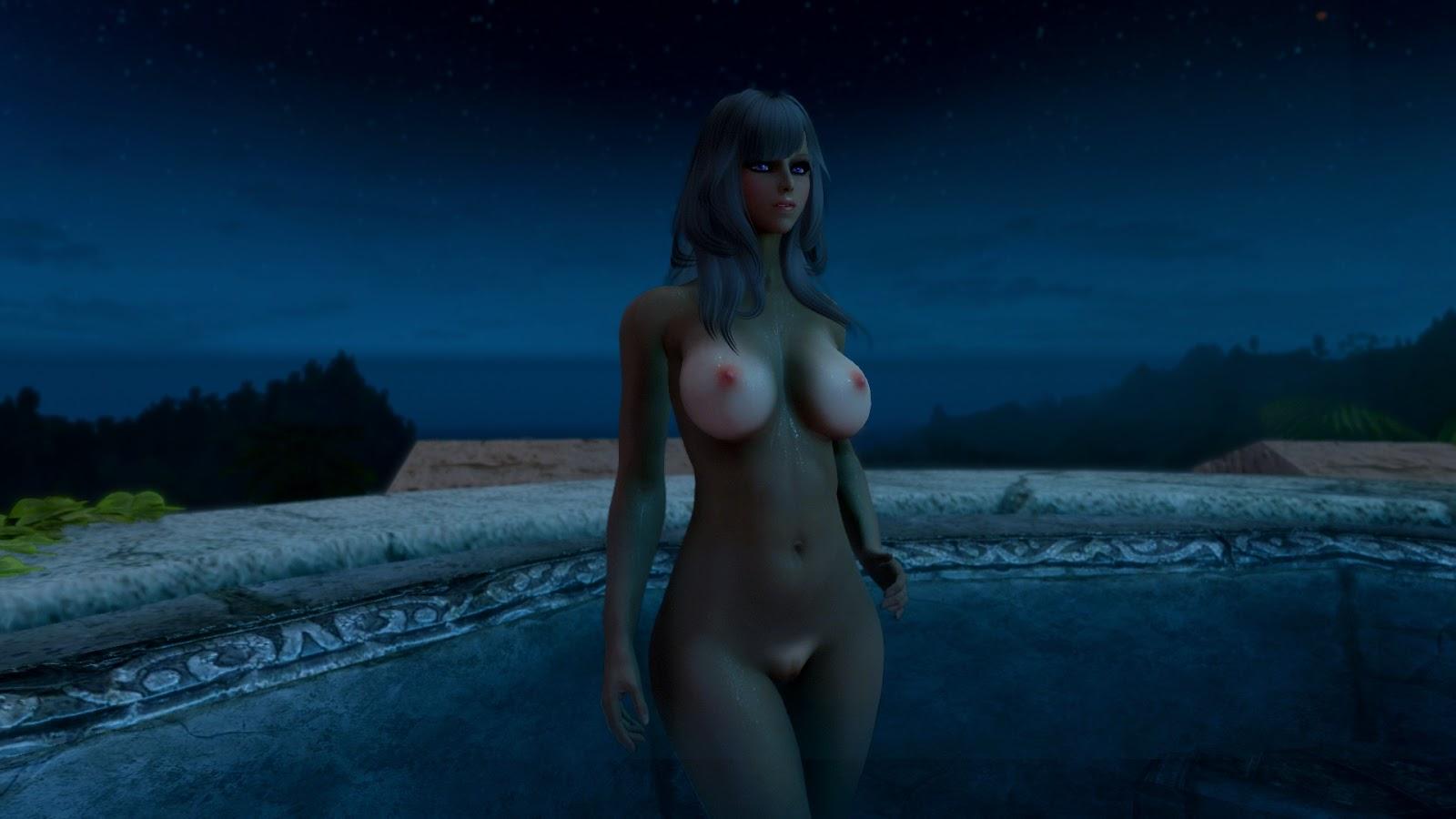 Skyrim nude models adult scene