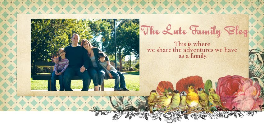 The Lute Family Blog