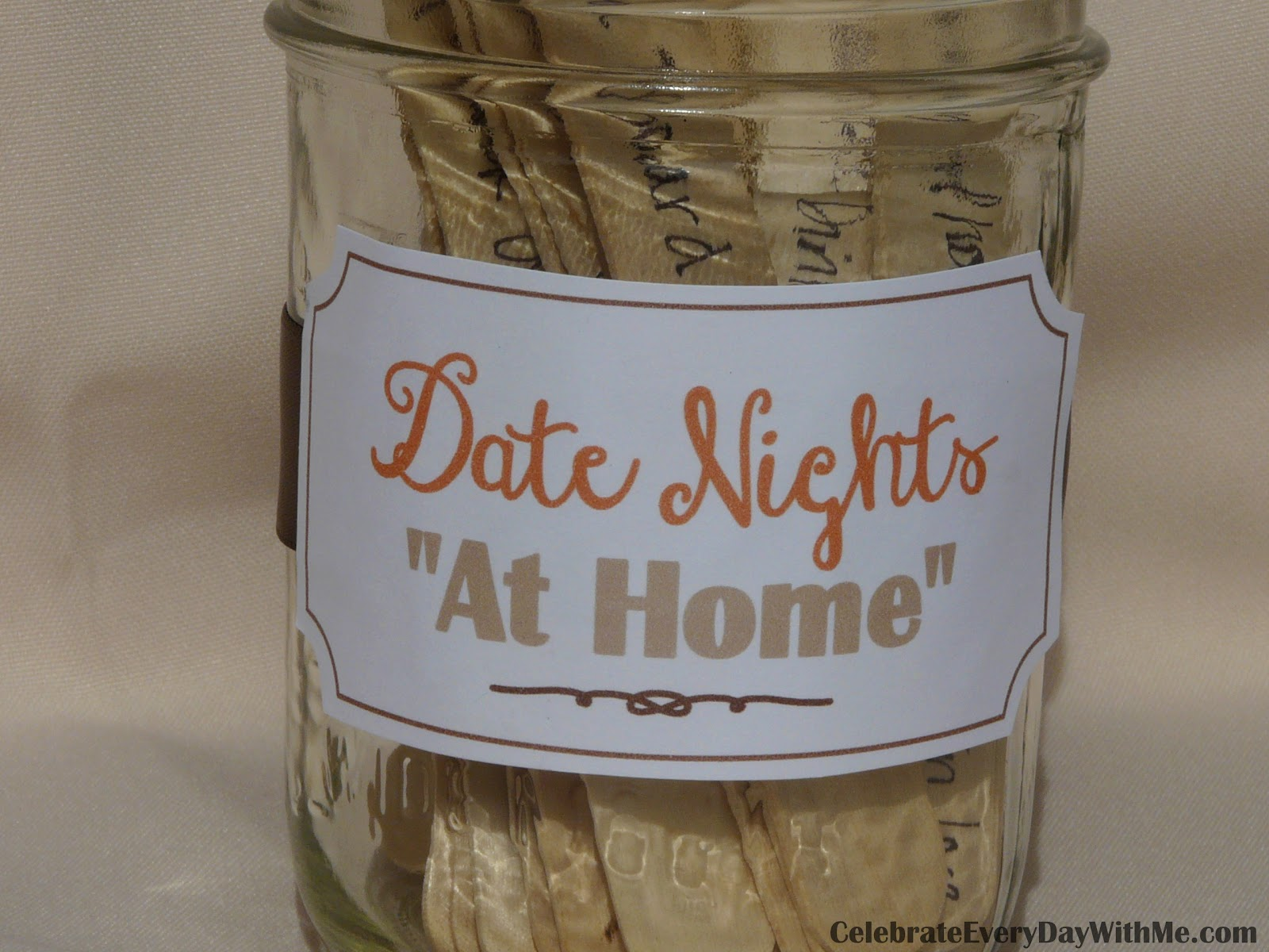 ... are some of the date nights that we have successfully done at home