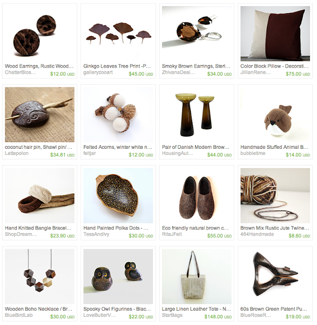 Chocolate Sprinkle Inspired Gifts on Etsy #chocolate #brown