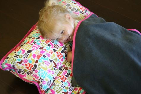 Para as mamães, Boa Idéia:Colchonete pra soneca do bebê.