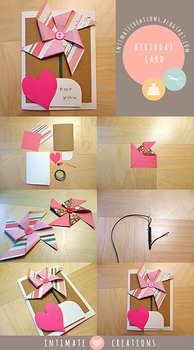 Κάρτα γενεθλίων ανεμόμυλος