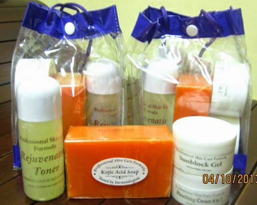 Rejuvenating Set by Professional Skin Care Formula