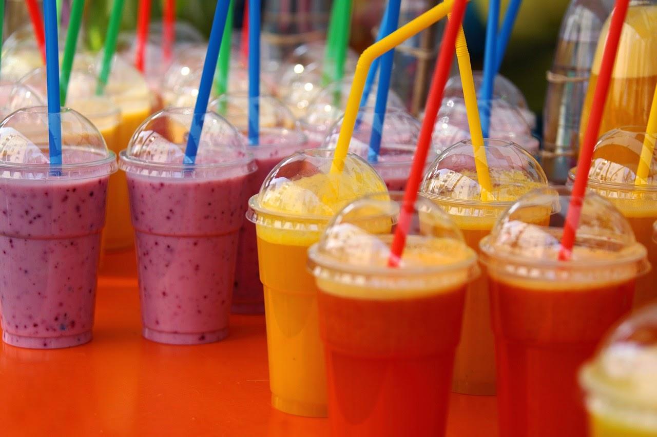 smoothies sanos y batidos de frutas y verduras