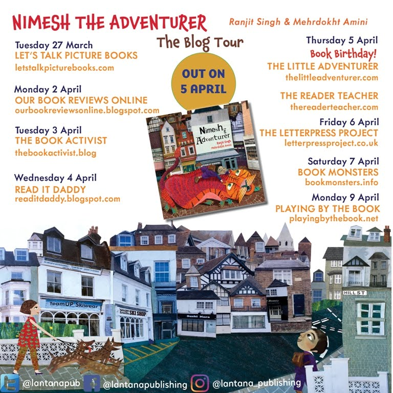 Nimesh the Adventurer Blog Tour