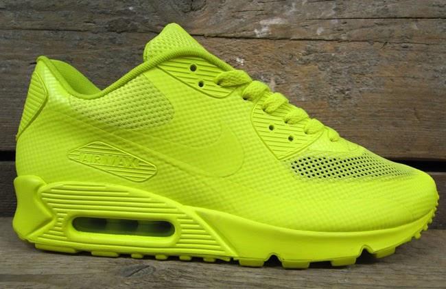 Air Max 90 Hyperfuse Volt On Feet Female Sneaker Fiend: ...
