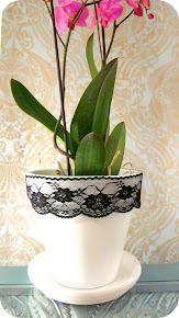 Little Lacy Flower Pot Tutorial!