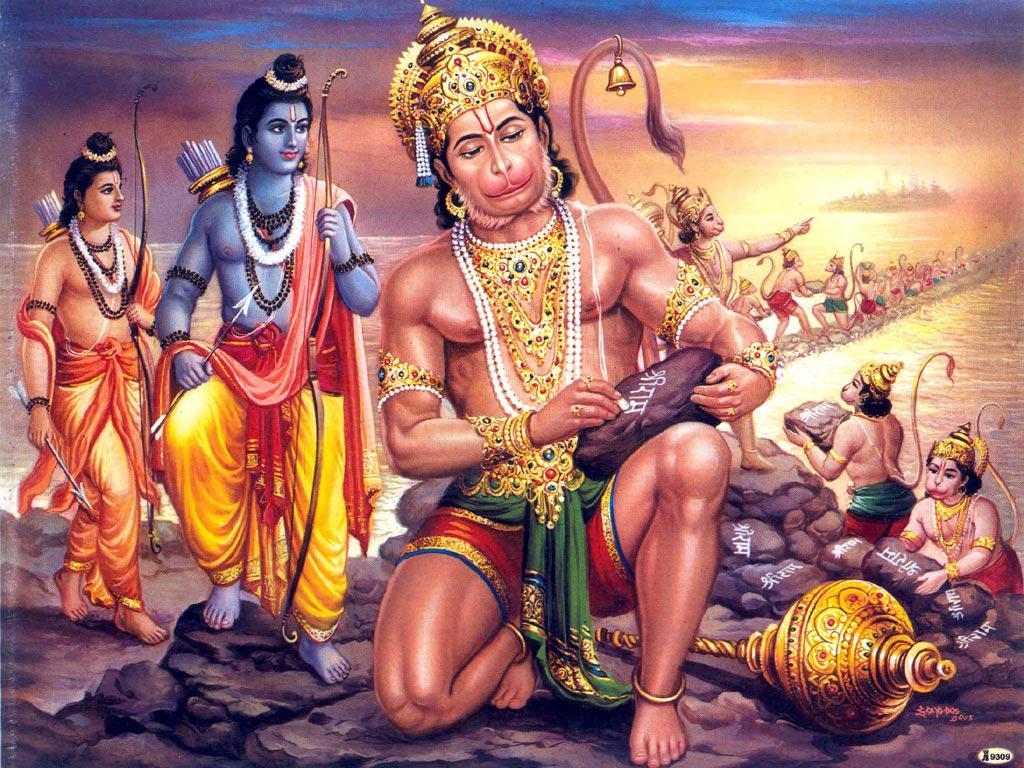hanuman-constructing+adams+bridge-+Hanuman+chalisa+SP+Balu.jpg