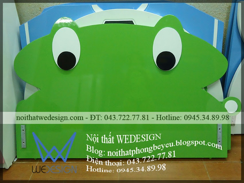 Giường ếch xanh ngộ nghĩnh