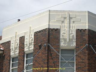 Hensen Park hotel facade detail