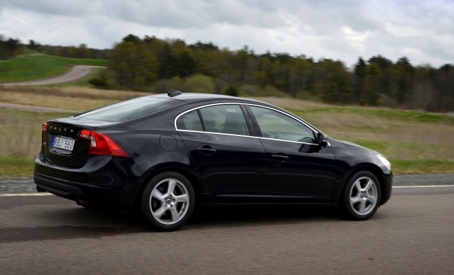 Volvo S60 KERS prototype rear view