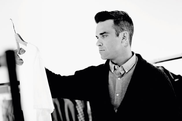 Robbie Williams and Farrel Clothing