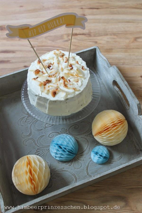 Pina Colada Torte Himbeerprinzesschen Foodblog