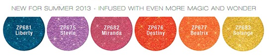 Zoya Summer Pixie Dust Collection 2013 Photo