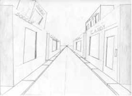 Perspectief as well 3 furthermore Perspective Lessons further 539587599091995677 besides 481955597594237421. on 2 point linear perspective drawing