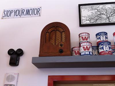 Oswald's Service Station DCA Disney California Radio Oswald