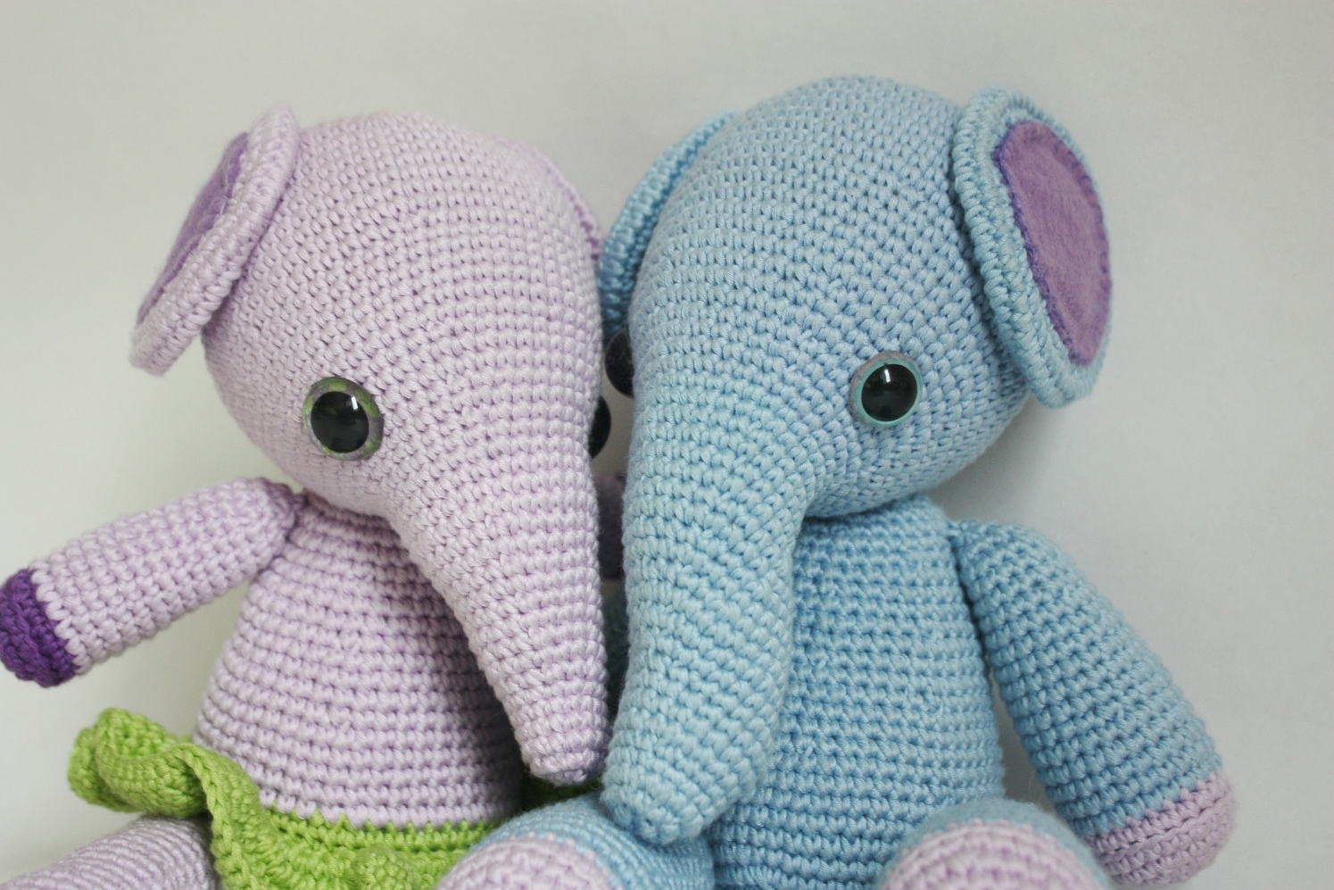 Crochet Doll Patterns On Etsy : HAPPYAMIGURUMI: New PATTERN: 2 in 1 Mio the Elephant and ...