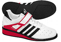 Style Athletics Women Girls Weightlifting Weight Lifting Shoes Adidas Black Red White