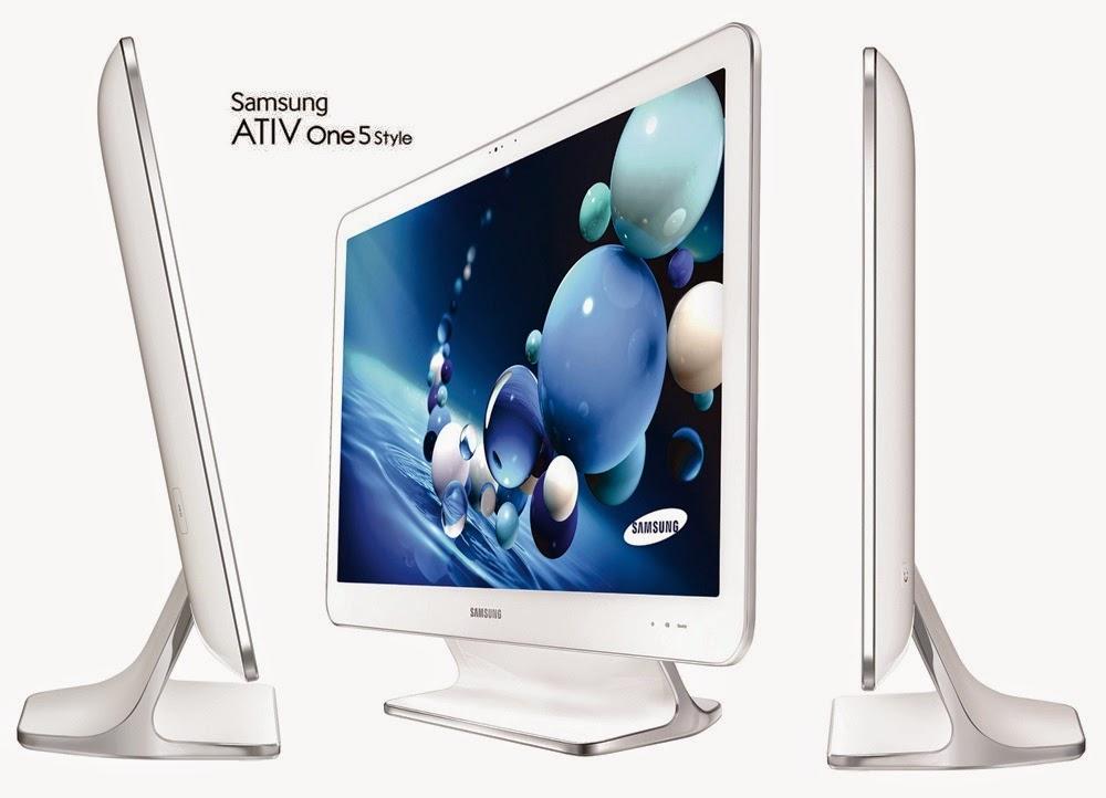 моноблок Samsung ATIV One 5 Style со всех сторон