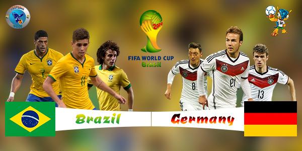 Brazil Jerman Piala Dunia 2014
