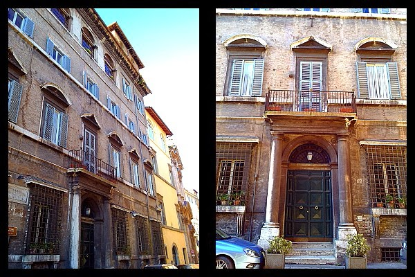 Palazzo Fioravanti w Rzymie