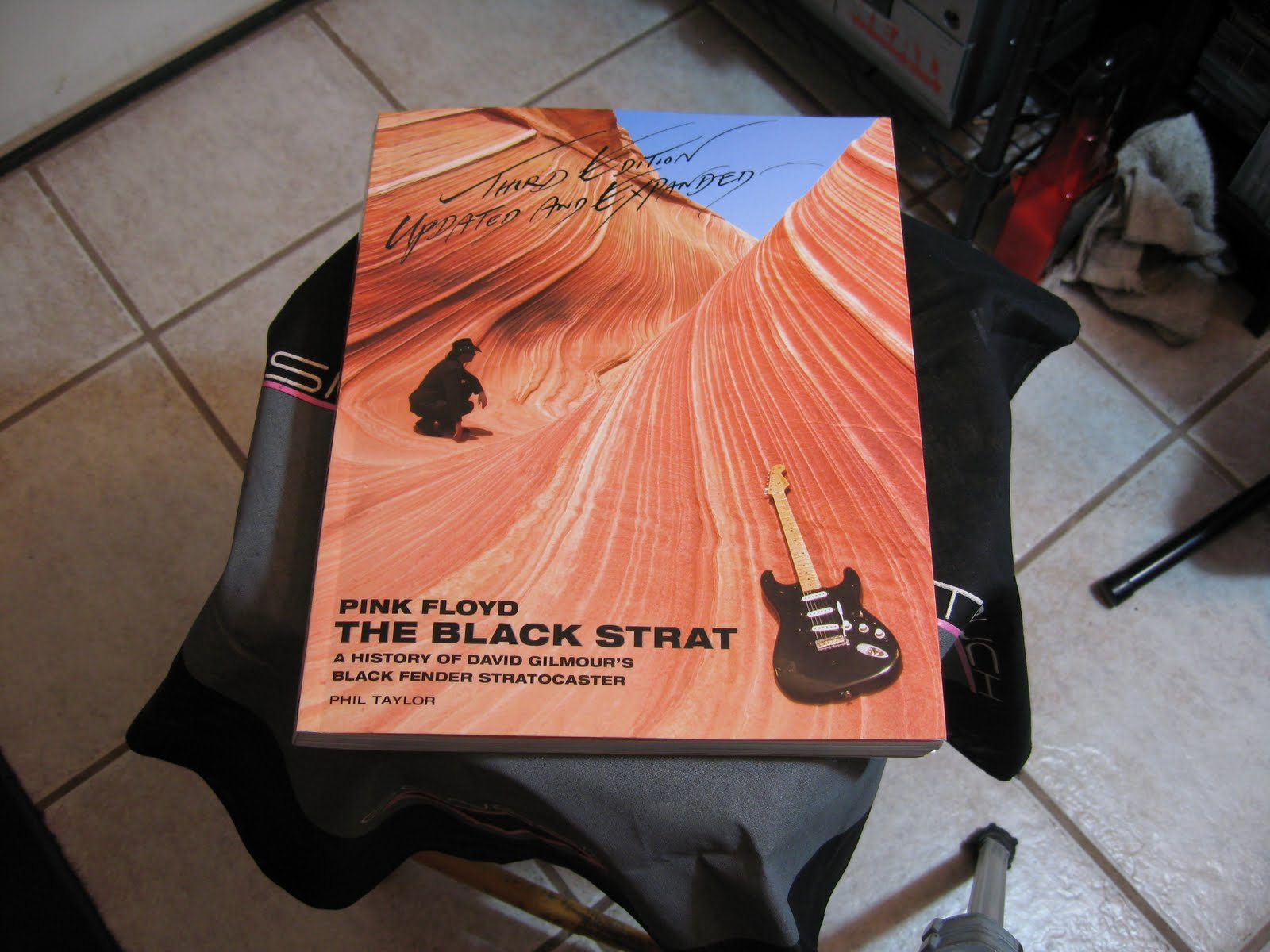 Loeuvre On Connait Lartisan 2011 The David Gilmour Black Strat Wiring Diagram Front Cover