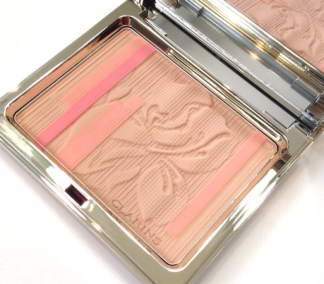Clarins Rouge Éclat Palette  Radiance Range Collection Palette Éclat Face Blush Powder spring 2013