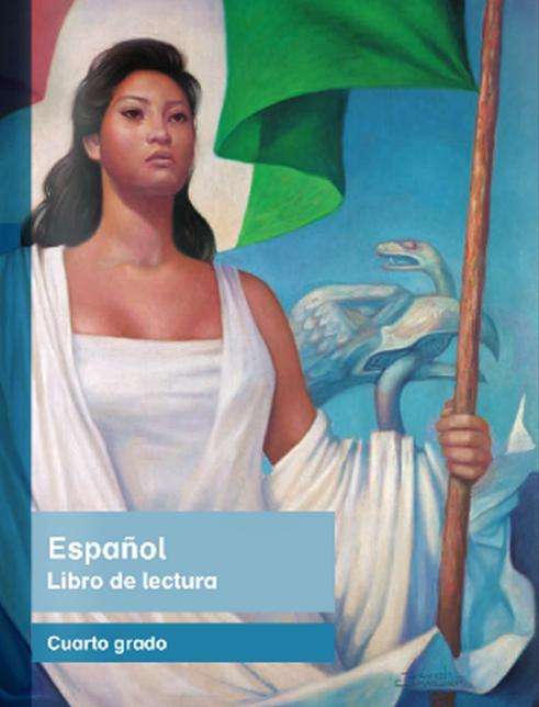 Libro de texto de Español Lecturas de Cuarto Grado