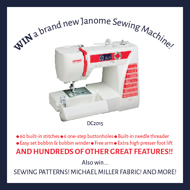 Making It Fun The Great Pattern Hack Challenge And Giveaway Unique Sewing Machine Giveaway 2015