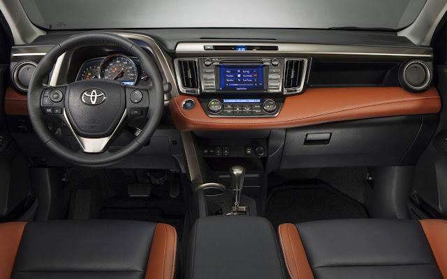 Novo Toyota RAV4 2013 - painel