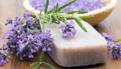 How to make a homemade Lavender SOAP