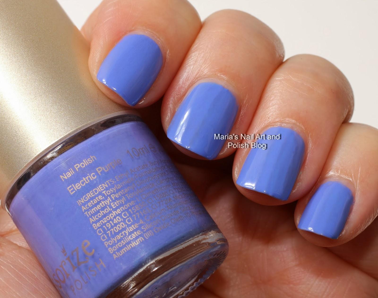 electric purple nail polish - photo #32