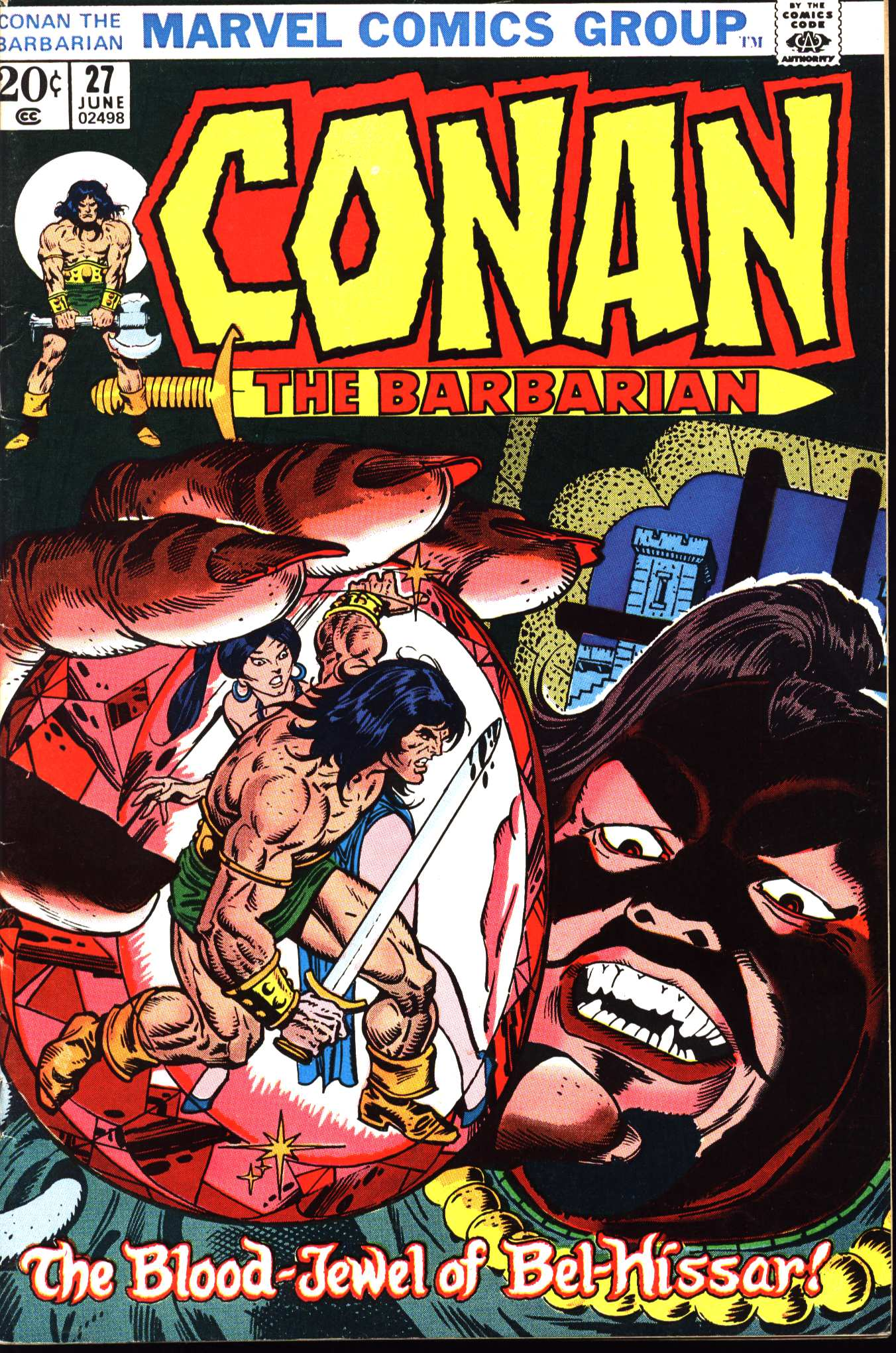 Conan the Barbarian (1970) Issue #27 #39 - English 1