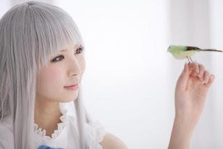 Rinami cosplay as Honma Meiko from Ano Hana