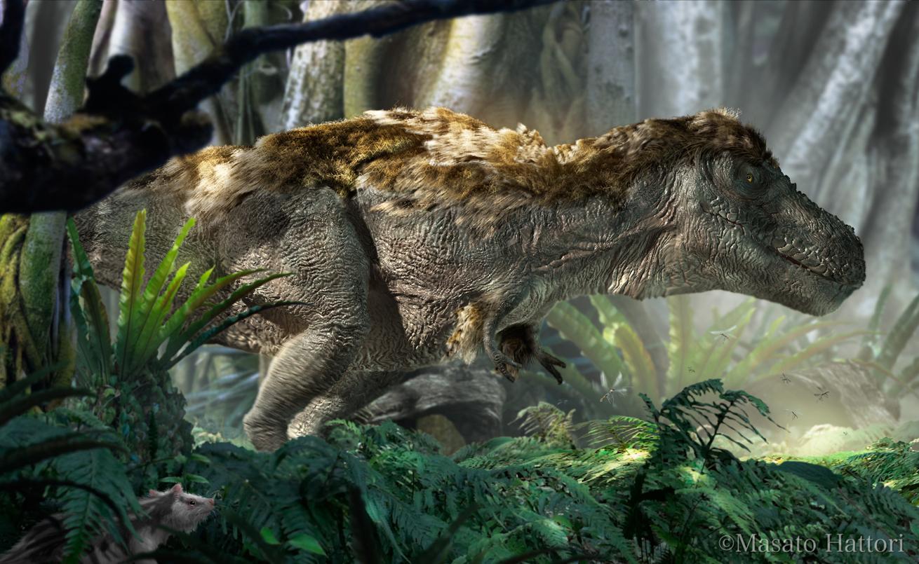 毛の生えたティラノサウルス