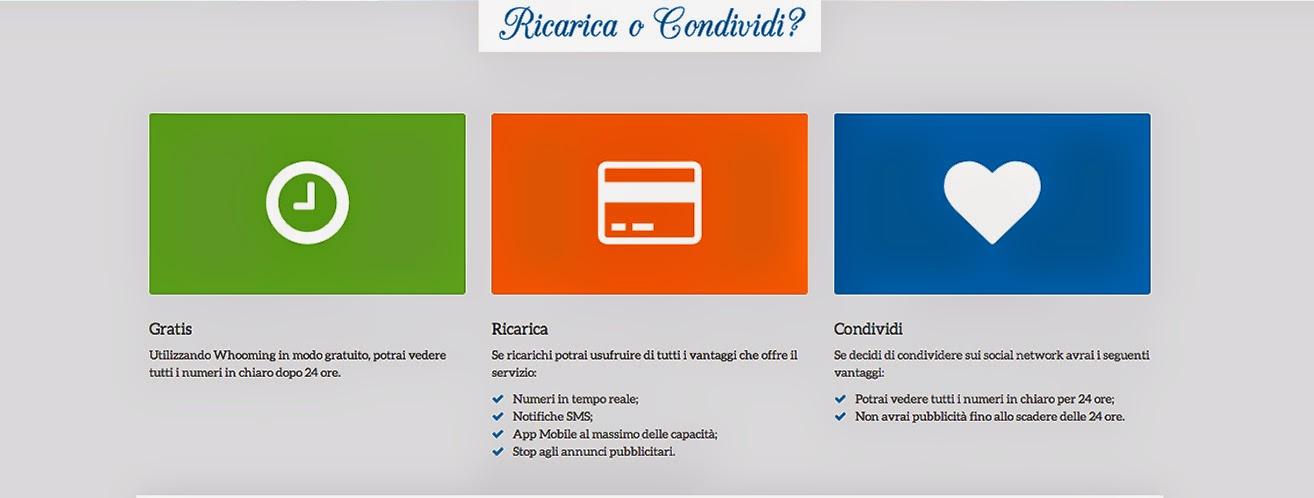 Ricarica e condividi - Whooming